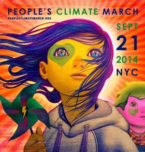 21J nos ponemos en marcha porque El Cambio Climático lo cambia todo.